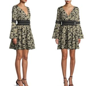 NWT ZAC Zac Posen Mika Floral Mini Cocktail Dress